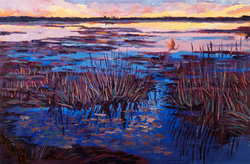 Marsh Sunset III