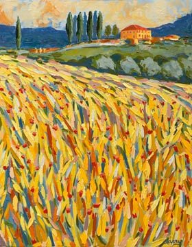 Tuscany Yellow Field