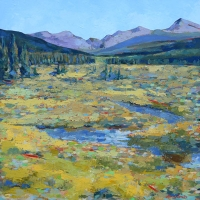 "NFS 36"" x 36"" Wyoming Stream"