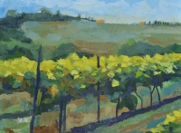 "24"" x 18"" Tuscany Vineyards"